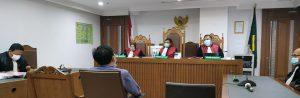 PNS Penyebar Hoax Jalani Sidang Perdana di Pengadilan Negeri Jakarta Pusat. - Foto: Sidang Perdana perkara penyebaran hoax oleh PNS bernama Budi Usman, di Pengadilan Negeri Jakarta Pusat (PN Jakpus), Selasa, 23 Februari 2021.(Ist)