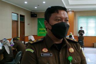 Kejari Jakarta Pusat Gelar Vaksinasi Covid-19. - Foto: Kepala Seksi Intelijen (Kasi Intel), Kejari Jakarta Pusat, Hernando.(Ist)