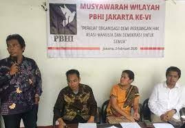 Tolak Penggusuran, Presiden Jokowi Didesak Perintahkan Aparatnya Usut Tuntas Kekerasan Terhadap Pembela HAM. - Foto: Perhimpunan Bantuan Hukum dan Hak Asasi Manusia Indonesia Jakarta (PBHI Jakarta).(Net)
