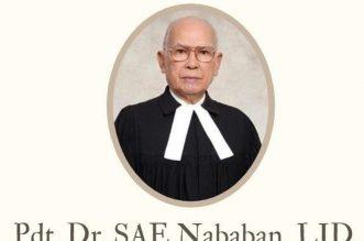 Berpulangnya Pejuang Gerakan Oikoumene Dunia, Pdt Dr SAE Nababan. - Foto: Tokoh Gerakan Oikumene Dunia, Pdt Dr SAE Nababan Lld. (Net)