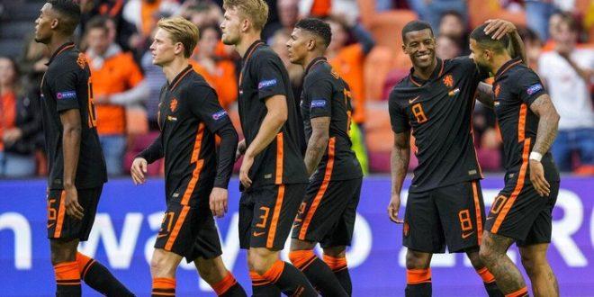 Hasil Makedonia Utara Vs Belanda, Skor 0-3, De Oranje Menang Sempurna di Grup C. - Foto: Belanda menang 3-0 atas Makedonia Utara di laga ketiga Grup C Euro 2020. (AP/Peter Dejong)
