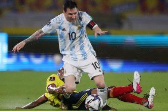 Copa America 2021, Argentina Vs Chile, Tim Tango Andalkan Lionel Messi. - Foto: Lionel Messi.(Reuters/Luisa Gonzalez)