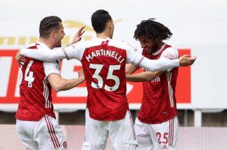 Banyak Pemain Terjangkiti Covid-19, The Gunners Batalkan Tour Florida Cup. - Foto: Arsenal alias The Gunners dilaporkan batal ikuti Florida Cup 2021.(Reuters)