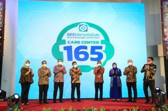 Untuk Mudahkan Pelayanan, BPJS Kesehatan Luncurkan Nomor Layanan Baru Bernama Care Center 165. - Foto: BPJS Kesehatan Resmikan Nomor Layanan Baru Bernama Care Center 165 di Gedung BPJS Kesehatan, Jakarta Pusat, Senin (13/9/2021).(Ist)